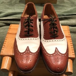 Barrie Ltd made in England 2tone winged tips